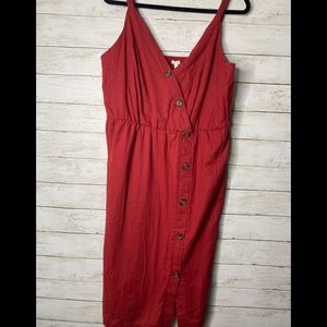 NWT Maurices Faux wrap dress L